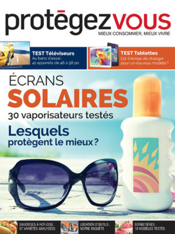 Protégez-Vous teste les crèmes solaires (Groupe CNW/Protégez-Vous)