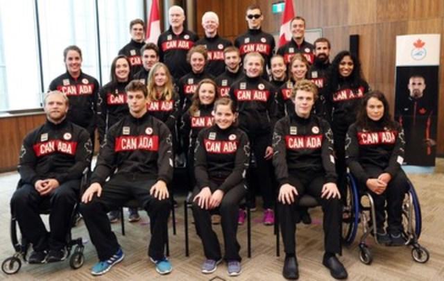 Natation Canada et le Comité paralympique canadien sont fiers d'annoncer les 22 nageurs mis en nomination dans Équipe Canada pour les Jeux paralympiques de Rio en septembre. (Groupe CNW/Comité paralympique canadien (CPC))