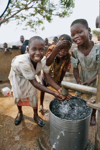 Clean Water is featured on the 'Most Needed Gifts' list from World Vision. Canadians have a global impact when they choose to give tangible donations, like clean water, as presents. (CNW Group/World Vision Canada)