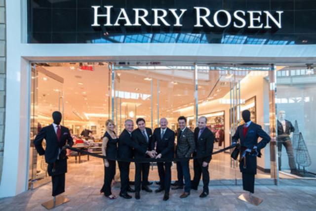 Harry Rosen, le détaillant de vêtements masculins haut de gamme par excellence, célèbre aujourd'hui son 30e anniversaire à Montréal en ouvrant une toute nouvelle succursale de 930 m2 (10 000 p2) au Carrefour Laval. (Groupe CNW/Harry Rosen Inc.)
