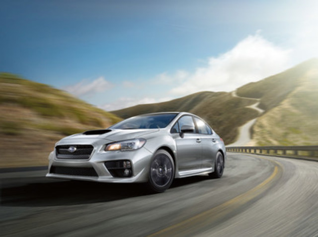 2017 Subaru WRX (CNW Group/Subaru Canada Inc.)