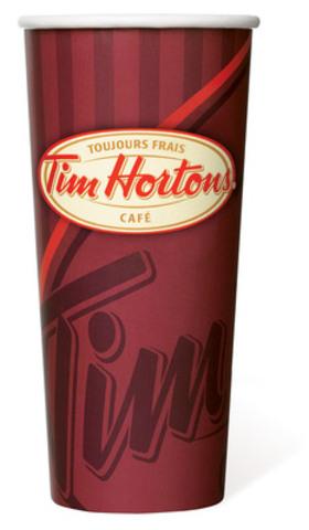Nouveau très grand (Groupe CNW/Tim Hortons Inc.)