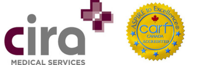 Cira Medical Services - Commission on Accreditation of Rehabilitation Facilities (CARF) Canada Accredited (CNW Group/Cira Medical Services)