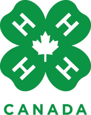 4-H Canada launches new logo (CNW Group/4-H Canada)