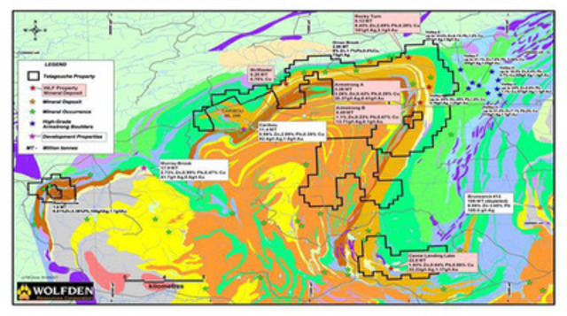 Figure 1: Location Map (CNW Group/Wolfden Resources Corporation)