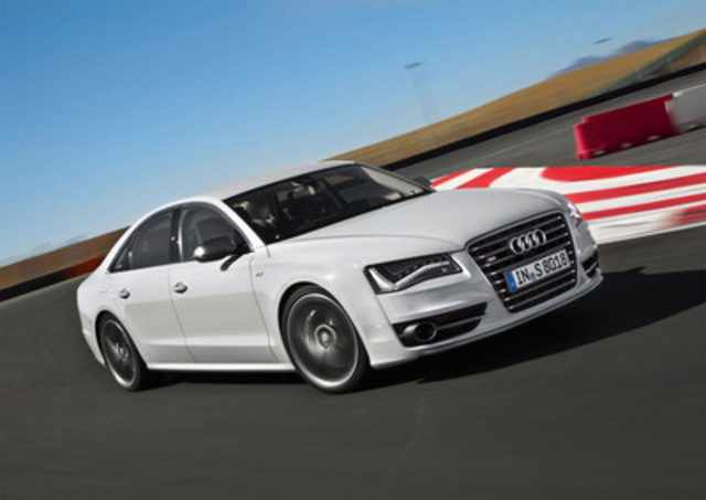 Audi Canada launches the new S8 model (CNW Group/Audi Canada)
