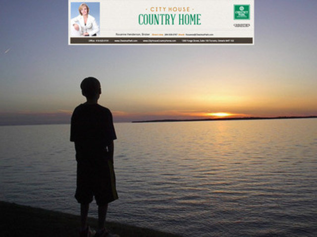 City House Country Home - Lake Simcoe waterfront 2015 annual market review (CNW Group/City House Country Home)