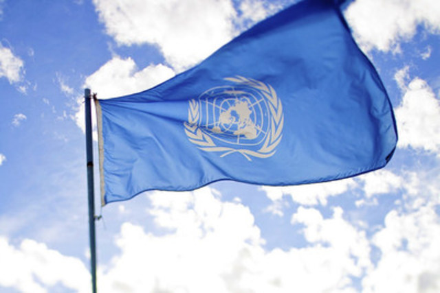 United Nation Flag. PHOTO: Flickr/Sanjit Bakshi. (CNW Group/Canadian Journalists for Free Expression)