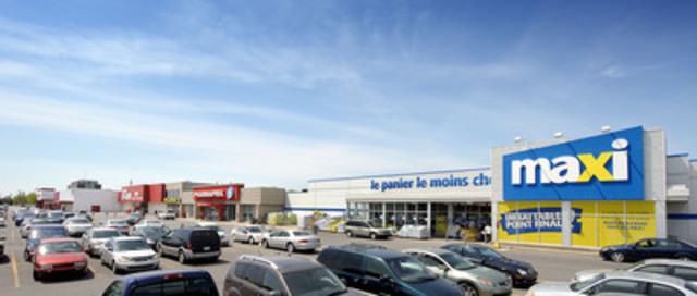1000, boulevard du Séminaire Nord, Saint-Jean-sur-Richelieu, Québec. (Groupe CNW/Fonds de placement immobilier BTB)