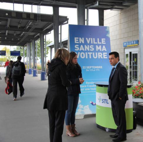 Monsieur David De Cotis, président du conseil d'administration de la Société de transport de Laval. (Groupe CNW/Société de transport de Laval)