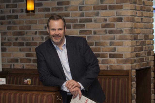 Bill Allen, restaurateur néo-brunswickois, est le nouveau président du Conseil d'administration de Restaurants Canada (anciennement la CRFA) (Groupe CNW/Restaurants Canada)