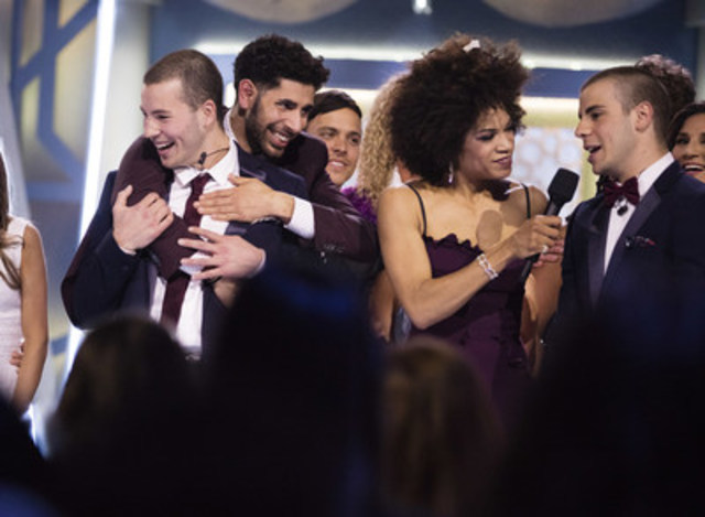 Nick and Philippe Paquette win Big Brother Canada! (CNW Group/Global Television)