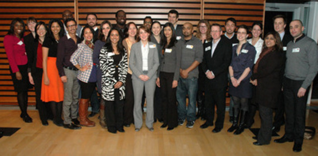 DiverseCity Fellows, multisectoral city-builders volunteering to improve the Toronto region (CNW Group/CivicAction)