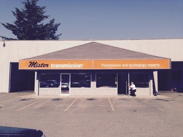 Mister Transmission is officially open for business. Visit 2139 Clearbrook Road #5, Abbotsford, British Columbia or contact: 604-746-4847, mrt109@mistertransmission.com to book an appointment. (CNW Group/Mister Transmission (International))