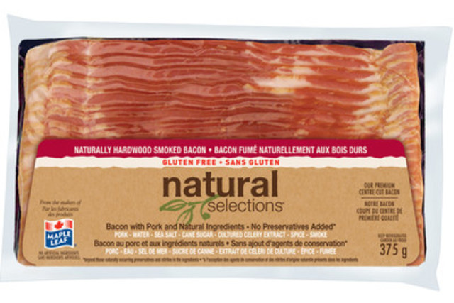 Bacon is CANADA'S national treasure #RoarCanadianBacon (CNW Group/Maple Leaf Foods Inc.)