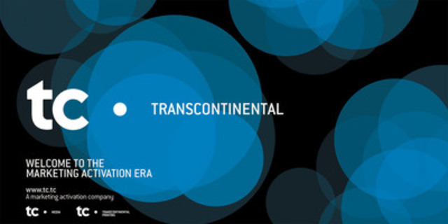 TC. Transcontinental is announcing its new corporate branding (CNW Group/TRANSCONTINENTAL INC.)