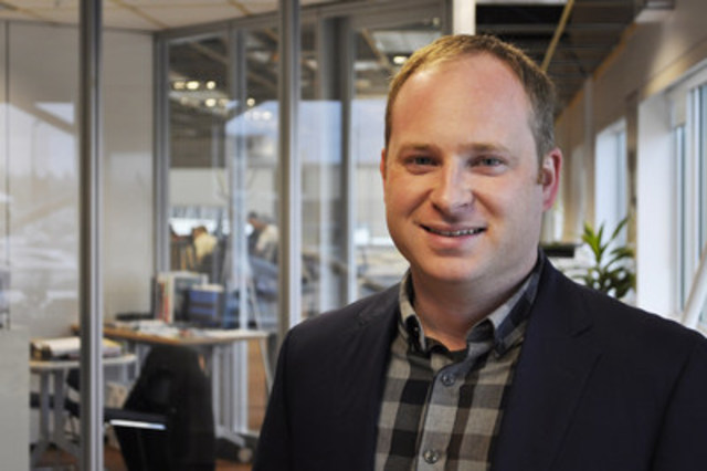 Eigen Innovation's CTO Scott Everett is one of six and the only Canadian finalist of Cisco's international Innovation Grand Challenge to be held in Dubai in December 2015. (CNW Group/New Brunswick Innovation Foundation)