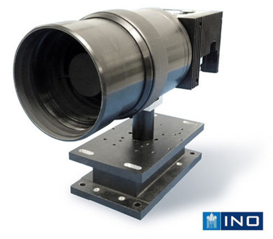 INO 16384x12288 pixels Infrared Camera(CNW Group/INO (National Optics Institute))