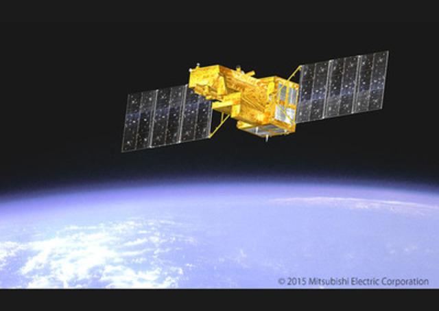 GOSAT-2 - image is courtesy of Mitsubishi Electric Corporation (CNW Group/ABB inc.)