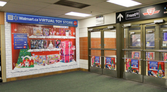 Toy expert Mattel and retail expert Walmart are teaming up again to make holiday shopping easier than ever for Canadians with multiple pop-up Virtual Toy Stores across Canada (CNW Group/Mattel Canada, Inc.)