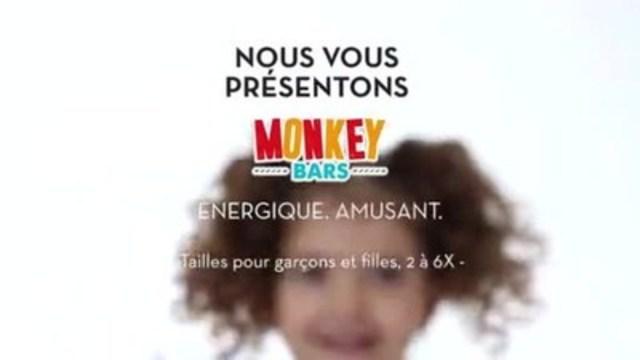 Vidéo : Monkey Bars - exclusivement chez Tigre Géant