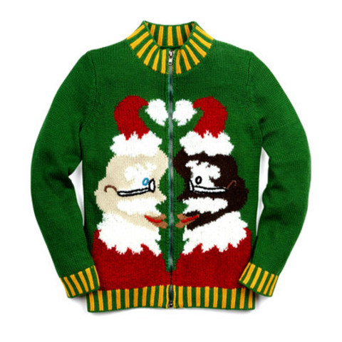 "Whoopi Goldberg's ""Santa Love"" holiday sweater, exclusively at Hudson's Bay beginning ..."