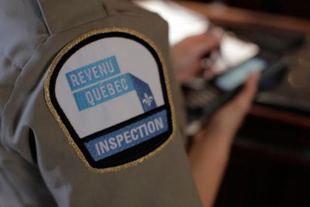 Insigne. (Groupe CNW/Revenu Québec)