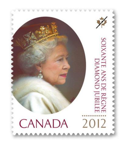 Postes Canada célèbre les soixante ans de règne de la Reine (Groupe CNW/Postes Canada)