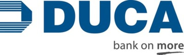 DUCA Financial Services Credit (CNW Group/DUCA Financial Services Credit Union Ltd.)
