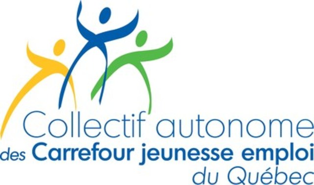 Logo : Collectif autonome des Carrefour Jeunesse Emploi du Québec (Groupe CNW/Collectif autonome des Carrefour jeunesse emploi du Québec)