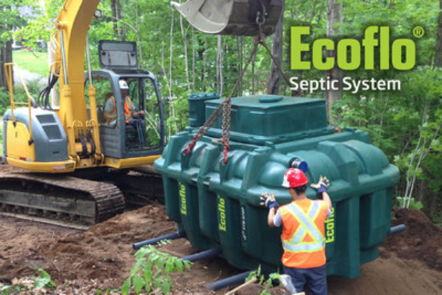 Ecoflo Septic System (CNW Group/Premier Tech)
