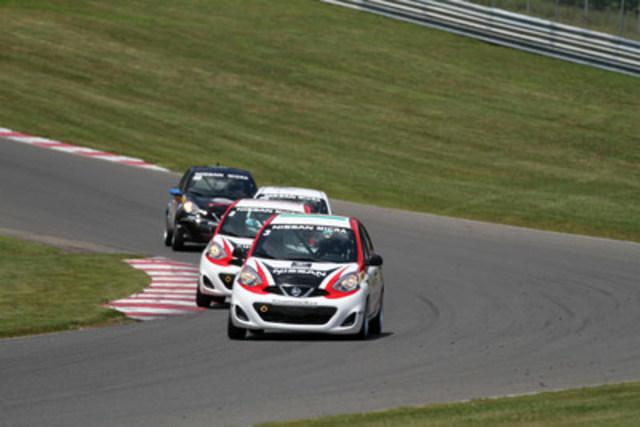 La Coupe Nissan Micra - Grand Prix Trois-Rivières (Groupe CNW/Nissan Canada Inc.)