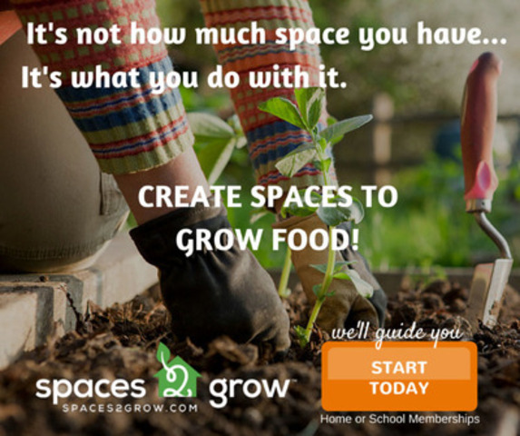 It's not how much space you have... It's what you do with it. (CNW Group/Spaces2Grow)