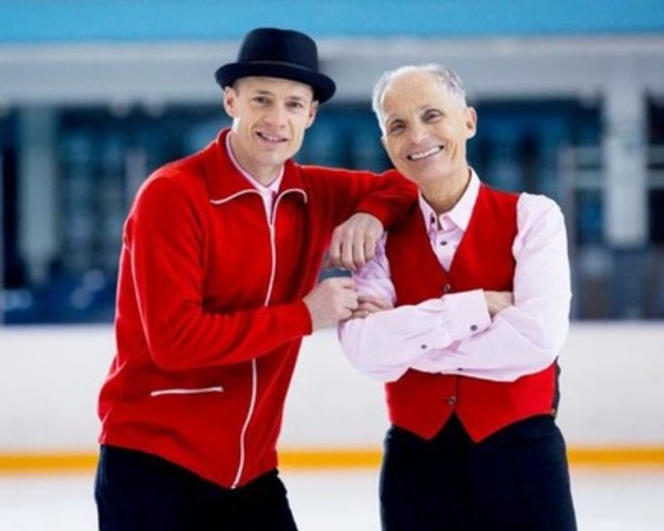 Kurt Browning et Donald Jackson (Groupe CNW/Banque HomEquity)