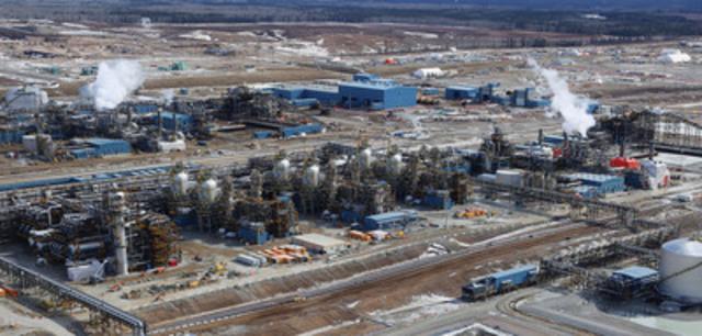 L'Impériale a annoncé aujourd'hui le démarrage réussi du projet d'expansion de l'exploitation des sables pétrolifères de Kearl (Groupe CNW/Compagnie Pétrolière Impériale Ltée)