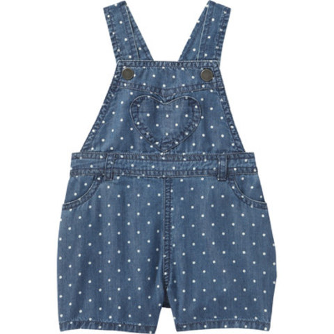 Joe Fresh(R) Baby Girls' Denim Overall (CNW Group/Loblaw Companies Limited)