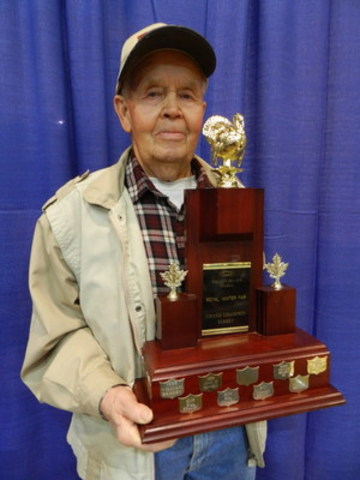 Bill Braden at the 2015 Royal Agricultural Winter Fair (CNW Group/Royal Agricultural Winter Fair)
