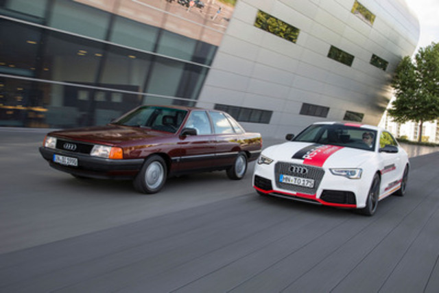 25 years of TDI: The bestseller for efficiency? (CNW Group/Audi Canada Inc.)