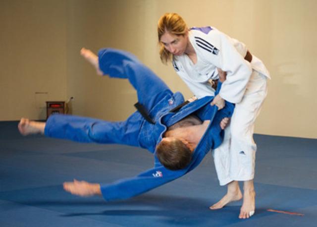 Judo Canada a choisi quatre athlètes pour la mise en nomination pour représenter le Canada aux Jeux parapanaméricains de Toronto 2015 en judo pour la déficience visuelle dont Priscilla Gagné, originaire de Granby Québec qui s'entraîne à Ottawa en Ontario. Photo: Comité paralympique canadien  (Groupe CNW/Comité paralympique canadien (CPC))