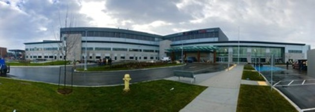 The new Providence Care Hospital in Kingston, Ontario reached substantial completion on November 30, 2016. (CNW  ...