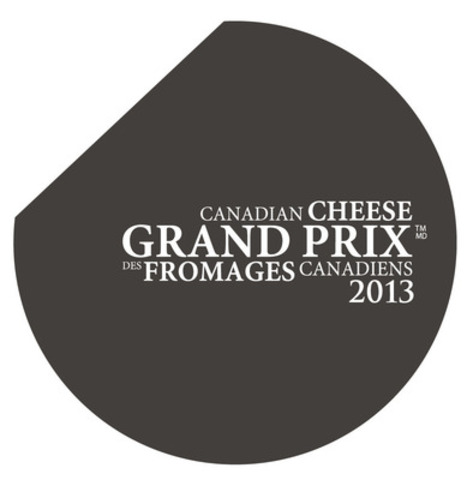 Logo du Grand Prix des fromages canadiens 2013 (Groupe CNW/Dairy Farmers of Canada (Marketing))
