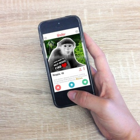 The Body Shop Takes Over Tinder to Help Endangered Species Find Love (CNW Group/The Body Shop)