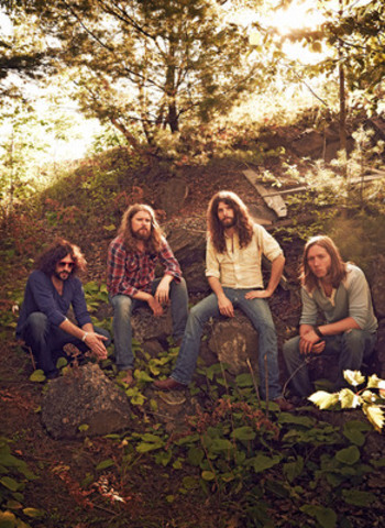 Juno Award-winning rockers, The Sheepdogs, will perform on the Atlantic Lottery/Red Shores Main Stage on August 23, 2014 during Saskatchewan Week in the PEI 2014 Celebration Zone, a 70-day cultural festival celebrating the creation of our nation in Charlottetown, Prince Edward Island. (CNW Group/Prince Edward Island 2014 Inc.)