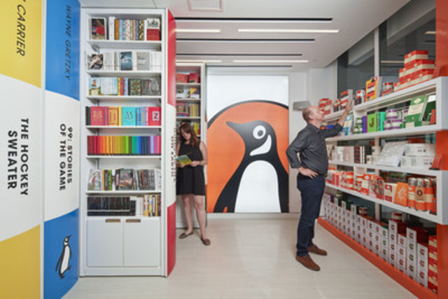 Penguin Random House Canada to open retail location in Toronto (Photo credit: Ryan Madill) (CNW Group/Penguin Random House Canada Limited)