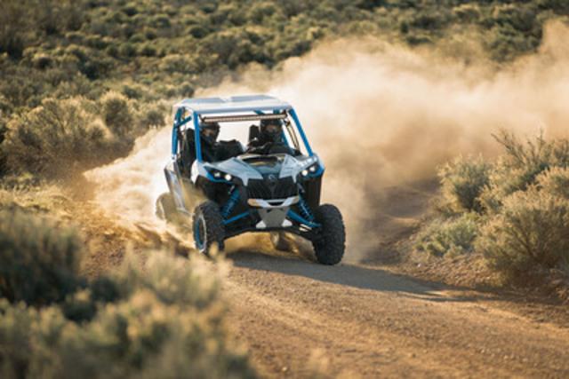 Le nouveau Can-Am Maverick X ds 1000R Turbo à 131 ch de BRP  (Groupe CNW/BRP)