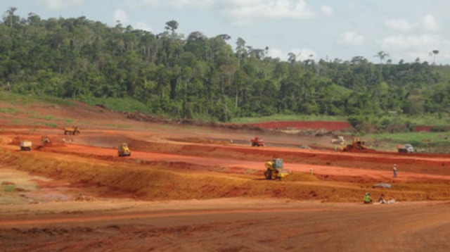 Tailings storage facility (CNW Group/Endeavour Mining Corporation)