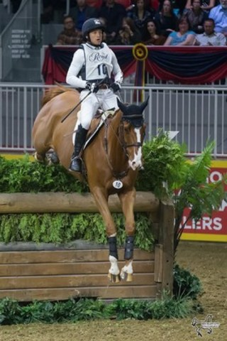 Reigning Olympic champion Michael Jung of Germany won the $20,000 Horseware Indoor Eventing Challenge on Saturday, November 5, at Toronto's Royal Horse Show.  Photo by Ben Radvanyi Photography (CNW Group/Royal Agricultural Winter Fair)