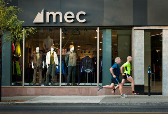 Mountain Equipment Co-op launches its first urban boutique of ready-to-wear activewear in Canada on Saturday, September 22nd, in the heart of the Plateau-Mont-Royal, rue Saint-Denis in Montreal. (CNW Group/MOUNTAIN EQUIPMENT CO-OP)