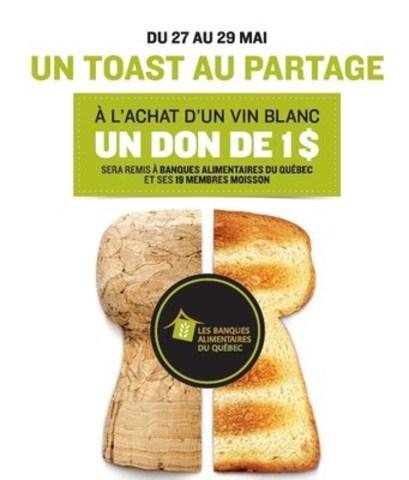 SAQ : le Grand week-end généreux débute maintenant! (Groupe CNW/Société des alcools du Québec - SAQ)