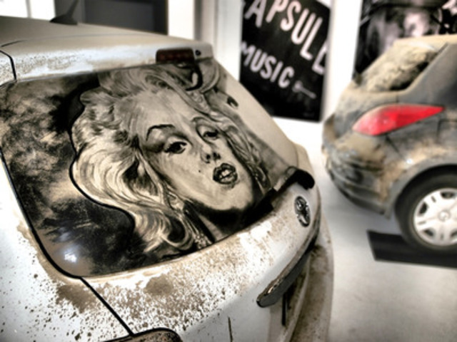 """Da Vinci of Dust,"" artist Scott Wade, reveals beauty in dirty cars at Toronto exhibit to celebrate ..."